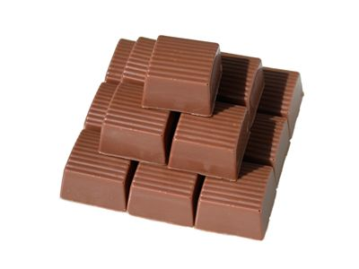 Box Shaped Truffles Chocolate