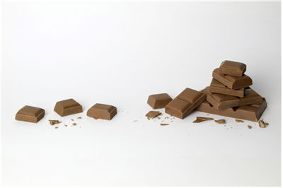 Broken Pieces of Chocolate