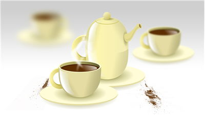 Chocolate Coffe Set