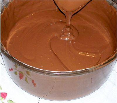 Melted Chocolate Cream