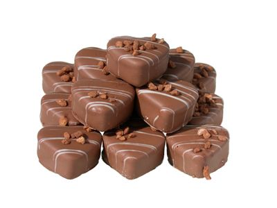 Heartshaped Truffles Chocolate